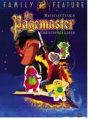 The pagemaster dinosuarking rockz