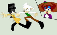Wallace Vs. Victor Quartermaine in sonic style