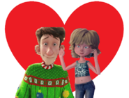 Arthur Claus and Tiffany Nickle love together
