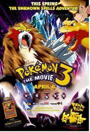 Pokemon three the movie chris1701