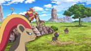 Pyroar anime