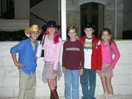 Sharkboy, lavagirl, max, linusminus, and ice princess
