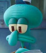 Squidward Tentacles in The SpongeBob Movie Sponge on the Run