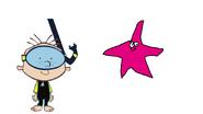 Stanley Griff meets Common Starfish