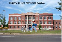 Tramp doo and the Ghoul School