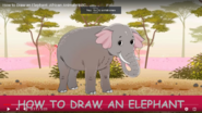 African Animals ABC Elephant