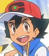 Ash Ketchum in Pokemon Journeys the Series