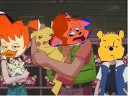 Danny Petting Pikachu