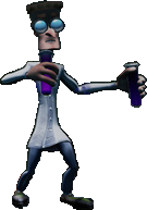 Crash Bandicoot N. Sane Trilogy Beaker Throwing Lab Assistant