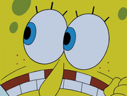 Spongebob saws monsters