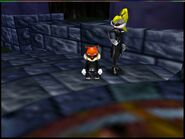 Conker's Bad Fur Day 64 conker and berry in heist