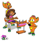 Dora's Mechanical Tickle Time