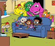 Dora vs Lincoln at Video Games