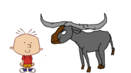 Stanley Griff Meets Wild Water Buffalo