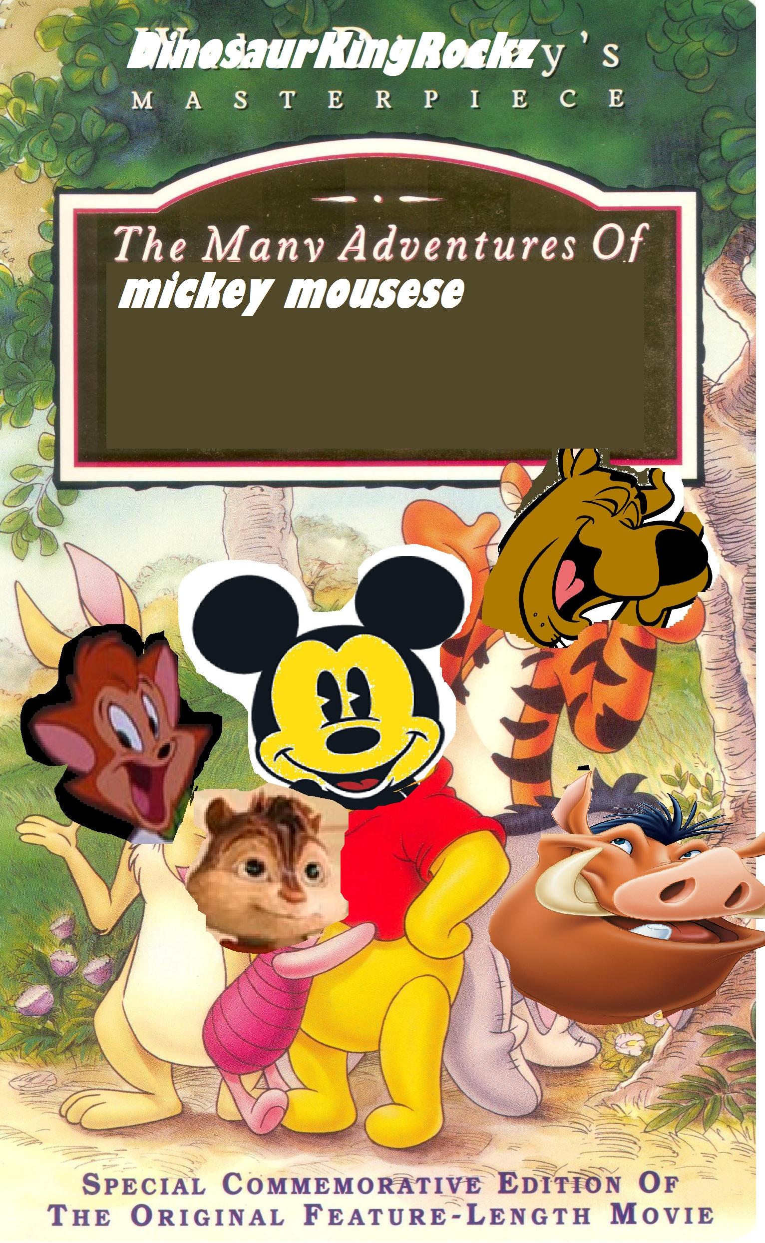 The Many Faces Of Sicily Dolce Gabbana Sicilian Folk: The Many Adventures Of Mickey Mouse (DinosaurKingRockz