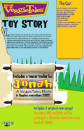 Toy Story teaser poster back