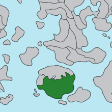 Location of Temania