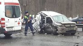 Dolgavia car wreck