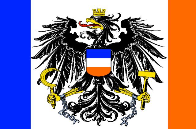 The Flag of the Vereinigte Königreich Narikaton und Darnussien (Narikaton and Darnussia)