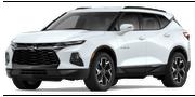 2019-Chevrolet-Blazer-white-full color-driver side front quarter