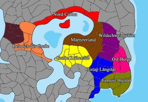 Eastern territories map