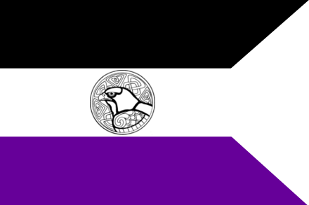 The Flag of the Serenissima Res Publica Pontesiae (Pontesi)
