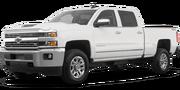 2019-Chevrolet-Silverado 2500HD-white-full color-driver side front quarter
