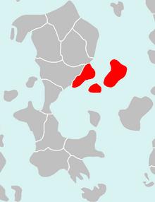 Location of Gaduridos