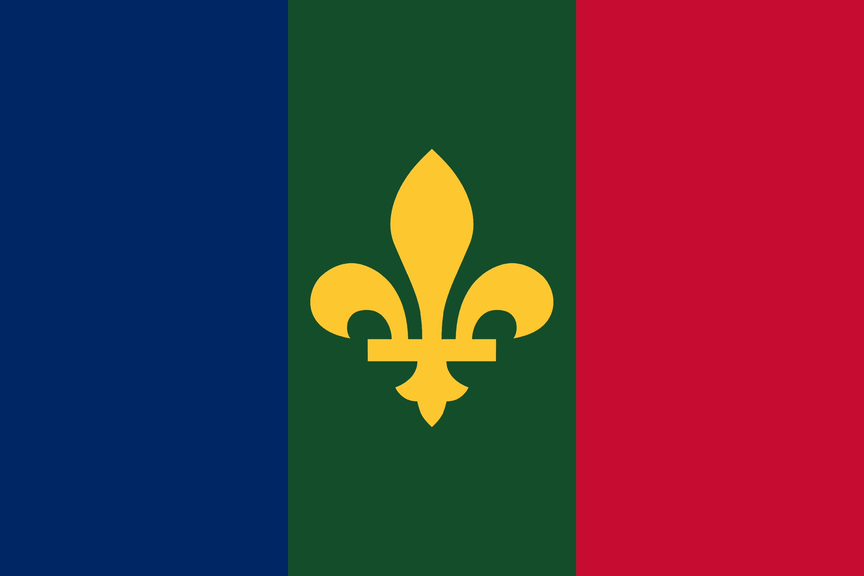 The Flag of the Royaume d'Aldurie (Kingdom of Alduria)
