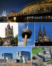 Cologne montage