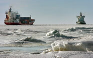 Strait of Trigunia Frozen