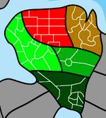 Kizenia Districts