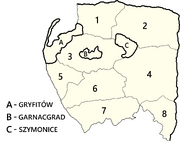 Gryfitów VV Counties Cities