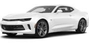 2018-Chevrolet-Camaro-white-full color-driver side front quarter