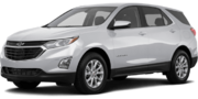 2019-Chevrolet-Equinox-silver-full color-driver side front quarter