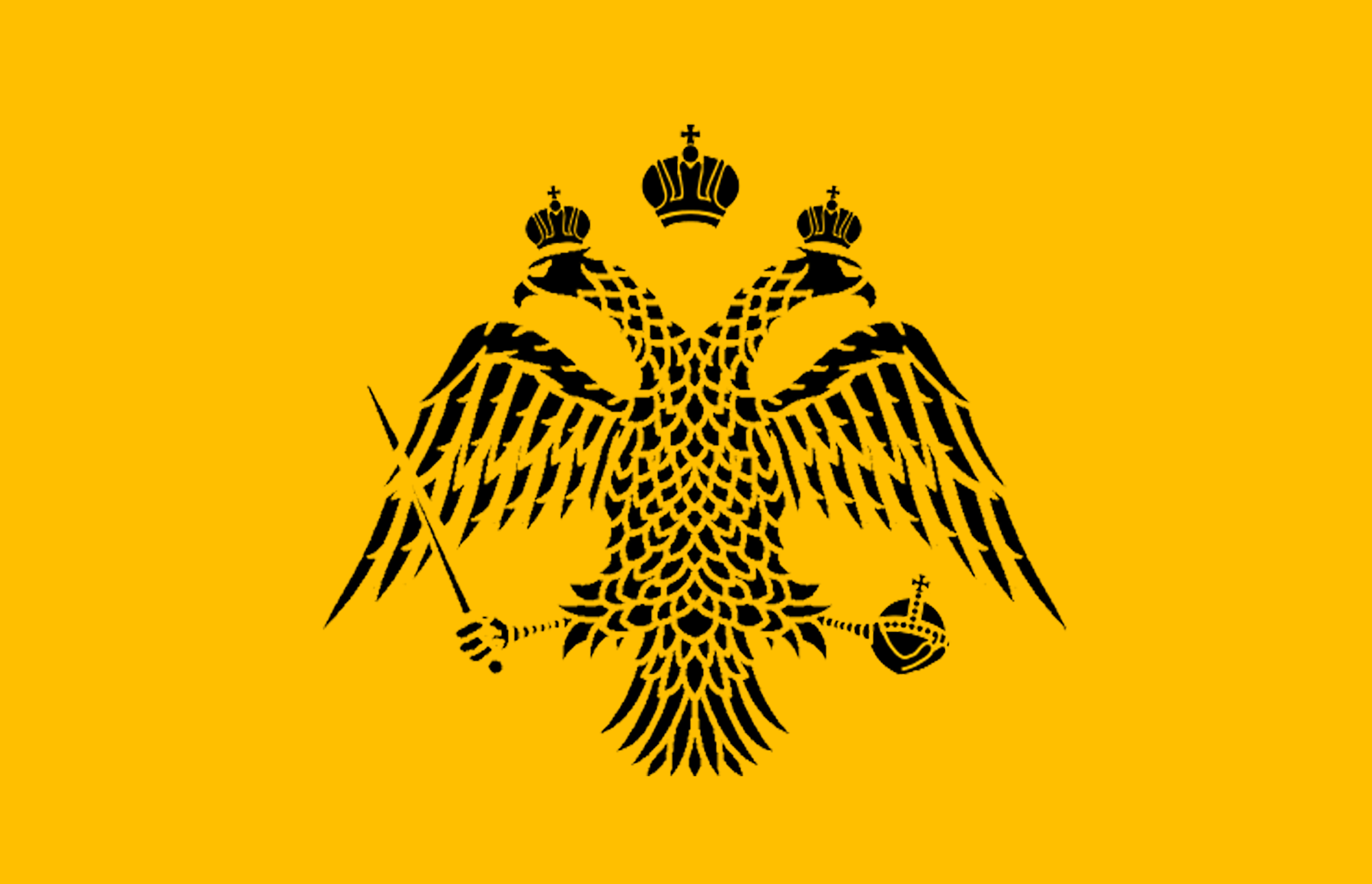 The Flag of the Aŭgustana Imperio (Zardugal)