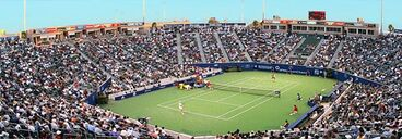 National tennis stadium