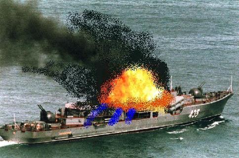 KNS Ayrdon on Fire