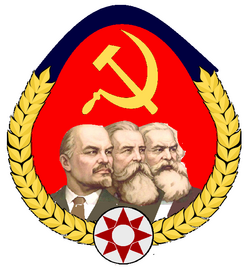 Communist Party of Clidania crest