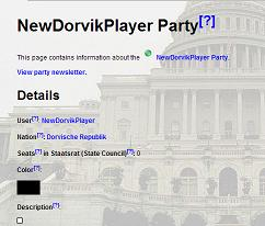 4. Party page