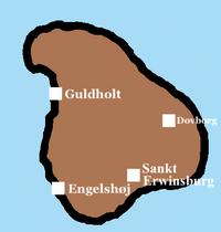 Dovmark Province map