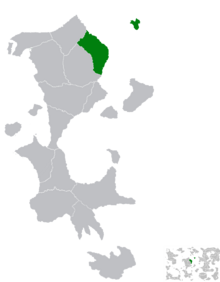 Location of Kalistan Mas