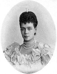 Grand Duchess Xenia Alexandrovna.