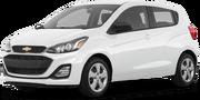 2019-Chevrolet-Spark-white-full color-driver side front quarter