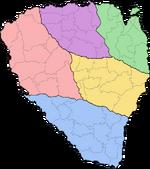 Kizenian counties