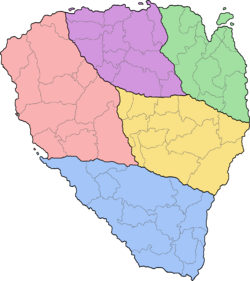 Kizenian counties