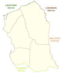 Vlaruzia borders