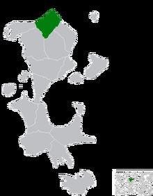 Location of Lodamun Mas