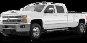 2019-Chevrolet-Silverado 3500HD-white-full color-driver side front quarter