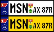 Val License Plates